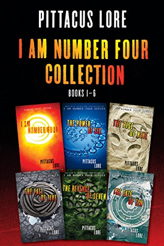 I Am Number Four Collection: Books 1-6: I Am Number Four, The Power of Six, The Rise of Nine, The Fall of Five, The Revenge of Seven, The Fate of Ten (Lorien Legacies) (English Edition) por Pittacus Lore