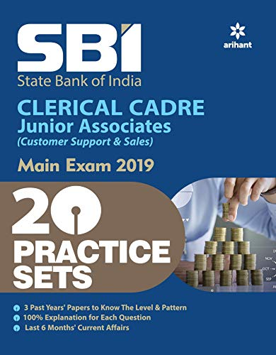 SBI Clerk Junior Asscociates Practice Sets Mains Exam 2019