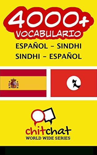 4000+ Español - Sindhi Sindhi - Español vocabulario por Jerry Greer