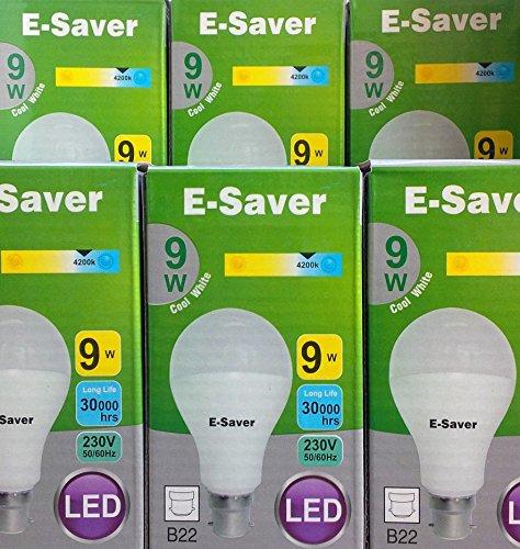 pack-of-6-e-saver-led-9w-80-watt-a60-globe-cool-white-4200k-bayonet-cap-bc-b22-b22d-850-lumen-90-ene