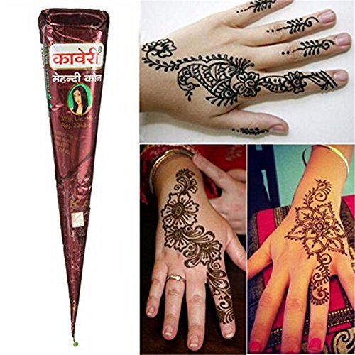 1pc-natural-cream-tattoo-paste-cones-brown-temporary-tattoo-stickers-decals-finger-tool