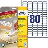 Avery Zweckform Etichette per prezzi, 35,6x16,9mm, 2000 etichette, colore: Bianco