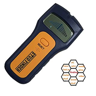 Generic Stud Finder Wall Scanner Multi Scanning Tools 3 in 1 Nail Metal Detector Tester For Wood Stud AC Wire Metal Pipes Detectoring With 9V Battery