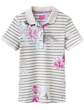 Joules Trinity Slim Fit Polo Shirt Grey Beau Stripe