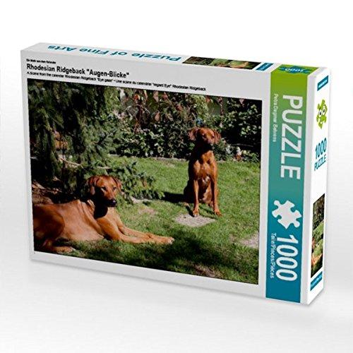 Rhodesian Ridgeback Hündinnen 1000 Teile Puzzle Quer