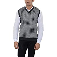 aarbee Men's Woolen Reversible Sweater S-L14_Medium