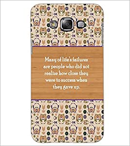 PrintDhaba Quote D-3174 Back Case Cover for SAMSUNG GALAXY GRAND 3 (Multi-Coloured)
