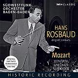 Hans Rosbaud Dirigiert W.a.Mozart