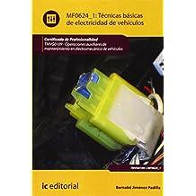 Técnicas básicas de electricidad de vehículos. tmvg0109 - operaciones auxiliares de mantenimiento en electromecánica de vehículos