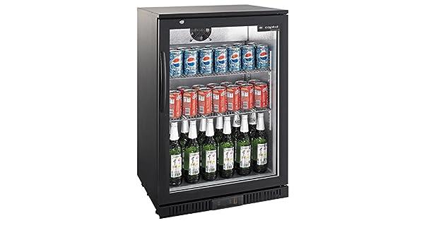 Kühlschrank Minibar Getränkekühlschrank Silber A Edelstahl Glastür 80l : Flaschenkühlschrank mit klapptür kühlschrank getränkekühlschrank