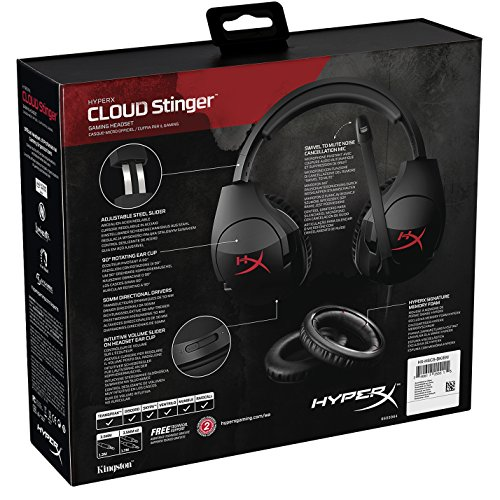 HyperX Cloud Stinger Cuffie da Gaming per PC/Xbox/One/PS4/Wii U/Mobile