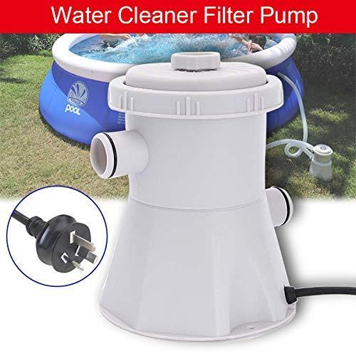Monggood 230V Elektrisch Schwimmbad Filterpumpe für Oberirdische Pools Reinigungswerkzeug