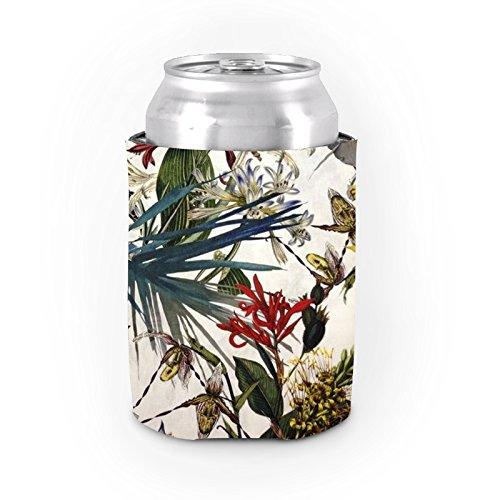 Antik kann Koozies Neopren Isolierte Bier kann Dosenkühler Ärmelstulpen Flower Garden können Kühler Party Favor (Flasche Antike Favor Party)