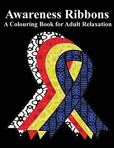awareness-ribbons-adult-colouring-book