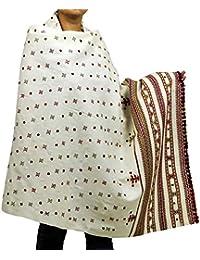 Vêtements indiens laine Accessoires brodés Châles Cadeaux Pour elle 84x36 pouces