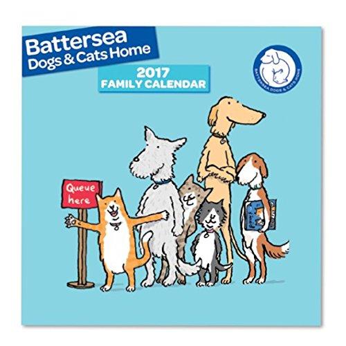 Battersea cani e gatti quadrato Calendario 2017