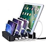 Best I Pad Docking Stations - 4 Ports USB Charging Station, Universal Detachable Multi-port Review