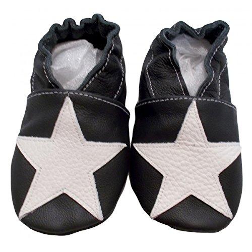 3 Sapatos Bebê Preto Calçados À 26 2 Ans 25 Puschen Bbkdom Menino Pointures De 6n7dxfx