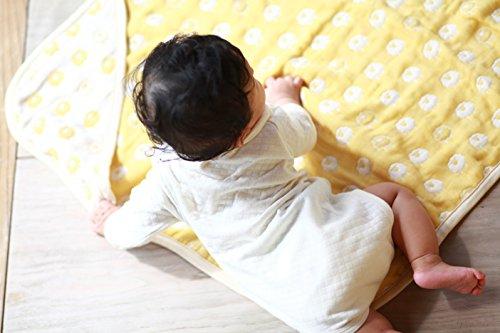 Lucky Meine erste Decke mit Motiv Schaf Himmel in Tausend Feuille de Baumwolle blau 70x 70cm