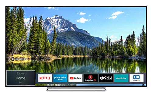 Toshiba 50VL5A63DG 126 cm (50 Zoll) Fernseher (4K Ultra HD, Dolby Vision HDR, TRU Picture Engine, Triple Tuner, Smart TV, Sound von Onkyo, Works with Alexa)