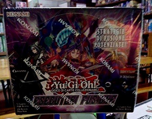 Konami Yu-Gi-Oh! - Esecutori Fusione Kinder & Erwachsene Reise/Abenteuer - Brettspiele (Kinder & Erwachsene, Junge/Mädchen, Italienisch, Innen & Außen, Reise/Abenteuer)