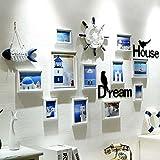 Galleria fotografica X&L Mediterraneo orientale-stile foto cornice creativa combinazione telaio parete soggiorno corridoio decorazione...