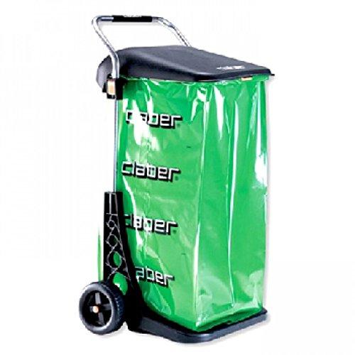 Claber Carrello raccoglitutto portasacco Carry Cart Eco Garden