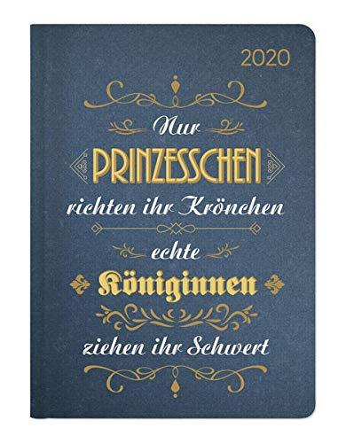 Ladytimer Vintage 2020 - Taschenkalender A6 (11 x 15) - Weekly - 192 Seiten - Notizbuch -...