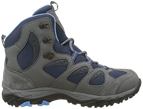 Jack Wolfskin Damen Mtn Storm Texapore Mid W Trekking-& Wanderstiefel Blau (Dark Sky 1165)
