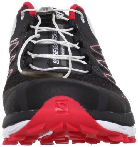 Salomon Damen Laufschuhe schwarz/rot