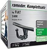 Rameder Komplettsatz, Anhängerkupplung starr + 13pol Elektrik für FIAT 500X (140773-13243-1)