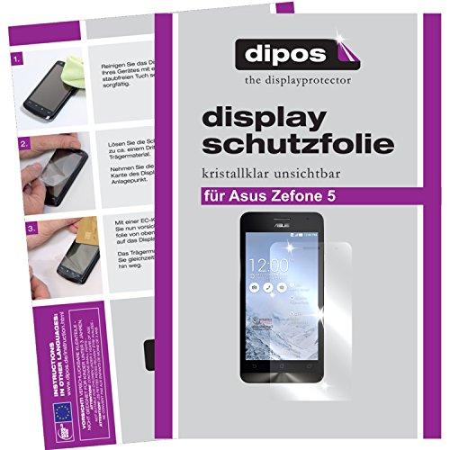 dipos I 2x Schutzfolie klar passend für Asus ZenFone 5 Folie Bildschirmschutzfolie