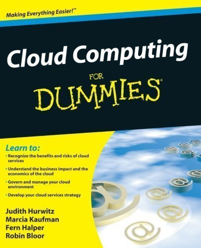 Cloud Computing For Dummies by Hurwitz, Judith Published by For Dummies 1st (first) edition (2009) Paperback