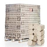 PALIGO Ruf Holzbriketts Duplex Hartholz Eiche Kamin Ofen Brenn Holz Heiz Brikett 10kg x 96 Gebinde 960kg/1 Palette HEIZFUXX®