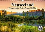 Neuseeland. Traumhafte Naturlandschaften (Wandkalender 2019 DIN A3 quer): Das einmalige Naturparadies der Erde (Geburtstagskalender, 14 Seiten ) (CALVENDO Orte)