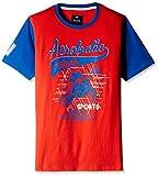 Bare Kids Boys' T-Shirt (BB/SS16/GT/16_Fuschia_9 - 10 years)