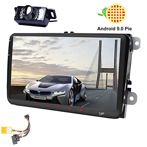 9 pulgadas Android 9.0 Doble 2Din Head Unit para VW Estéreo Golf...
