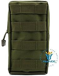 Multifunción Supervivencia Gear Tactical Carteras Carteras Molle Táctico, bolsa de transporte Everyday Camping Portable Bolsos Bolsa para herramientas Cintura Bolsa de viaje Phone Pouch, OD