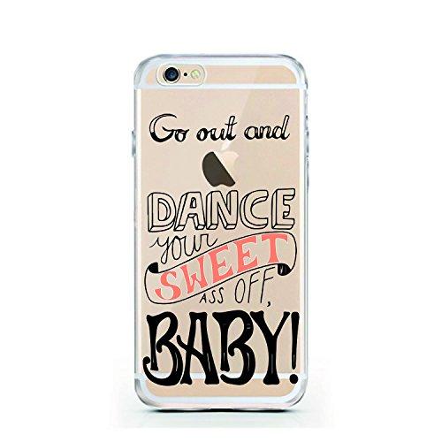 iPhone 6 Hülle von licaso® für das Apple iPhone 6 & 6S aus TPU Silikon Poly Heart Herz 3D Art Muster ultra-dünn schützt Dein iPhone 6 & ist stylisch Schutzhülle Bumper in einem (iPhone 6 6S, Poly Hear Dance your Sweet ass Off