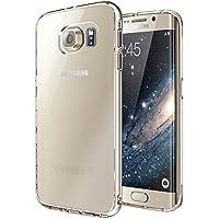 vau Ultra Hybrid Case - transparent - durchsichtige Schutz-Hülle, Tasche für Samsung Galaxy S6 Edge