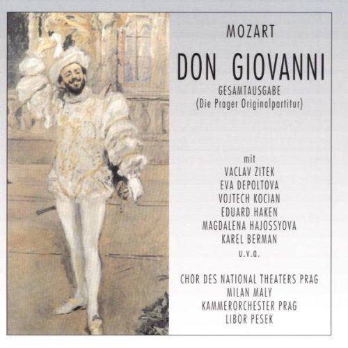 Mozart: Don Giovanni (Gesamtaufnahme Prag 1981)