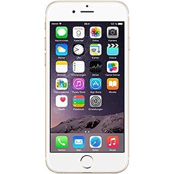 "Apple iPhone 6, 4,7"" Display, 16 GB, 2014, Gold"