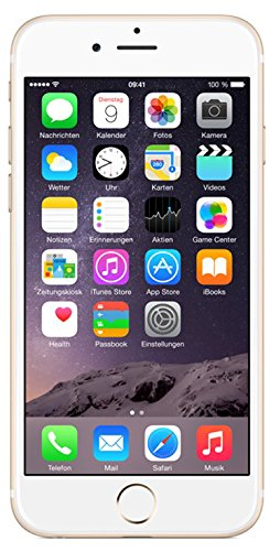 Apple iPhone 6 Smartphone (4,7 Zoll (11,9 cm) Touch-Display, 64 GB Speicher, iOS 8) gold