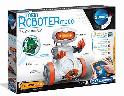 Clementoni 59158 Galileo MC 5.0-programmierbarer Roboter für Kinder ab 8 Jahren