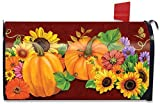 Best Briarwood Lane Garden Decors - Fall Glory Floral Magnetic Mailbox Cover Sunflowers Pumpkins Review
