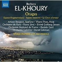 Orages - Concert d'Ouverture, Op. 93 / Poème symphonique N°6 / Espaces-Fragmentations, Op. 87 / Poème nocturne, Op. 80 / Le Chant d'amour - Poème lyrique, Op. 44