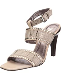Farrutx sandal 41790 - Sandalias de vestir para mujer, color beige, talla 39