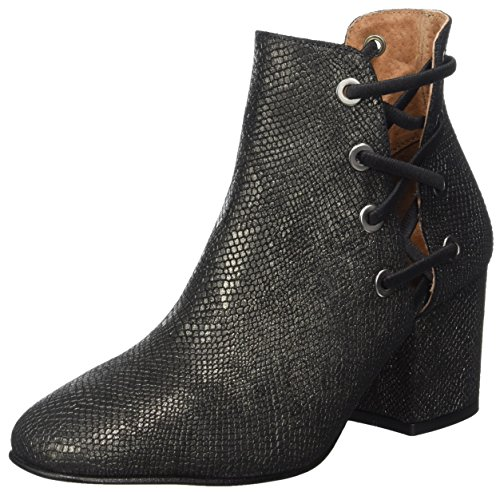 Hudson London Damen Kris Stiefel, Silber (Metallic), 39 EU -