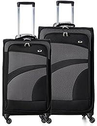 Aerolite Super Lightweight 4 Wheel Spinner Luggage Suitcase Travel Trolley Case
