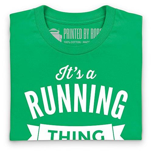 It's A Running Thing T-Shirt, Damen Keltisch-Grn